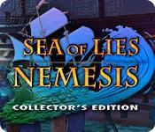Recurso de captura de tela do jogo Sea of Lies: Nemesis Collector's Edition