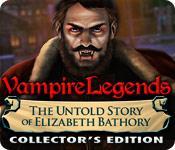 Recurso de captura de tela do jogo Vampire Legends: The Untold Story of Elizabeth Bathory Collector's Edition