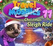 Feature screenshot Spiel Travel Mosaics 11: Christmas Sleigh Ride