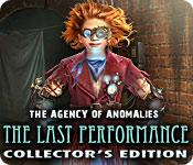 Feature screenshot game The Agency of Anomalies: The Last Performance Collector's Edition