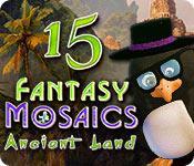 Feature screenshot game Fantasy Mosaics 15: Ancient Land