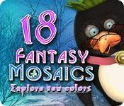 Feature screenshot game Fantasy Mosaics 18: Explore New Colors
