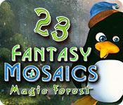Feature screenshot game Fantasy Mosaics 23: Magic Forest