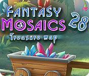 Feature screenshot game Fantasy Mosaics 28: Treasure Map