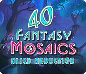 Feature screenshot game Fantasy Mosaics 40: Alien Abduction