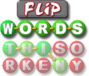 Flip Words game play