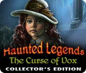 Feature screenshot game Haunted Legends: The Curse of Vox Collector's Edition