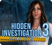 Feature screenshot game Hidden Investigation 3: Crime Files