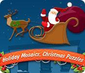 Feature screenshot game Holiday Mosaics Christmas Puzzles