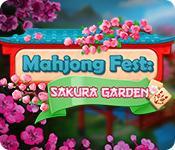 Feature screenshot game Mahjong Fest: Sakura Garden