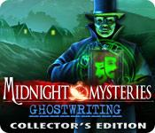 Feature screenshot game Midnight Mysteries: Ghostwriting Collector's Edition
