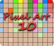 機能スクリーンショットゲーム Pixel Art 10