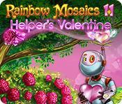 Rainbow Mosaics 11: Helper's Valentine game play