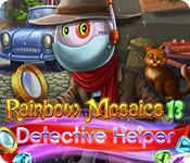 Feature screenshot game Rainbow Mosaics 13: Detective Helper