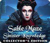 Feature screenshot game Sable Maze: Sinister Knowledge Collector's Edition