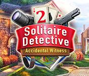 Solitaire Detective 2: Accidental Witness game play