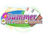 Feature screenshot game Summer Tri-Peaks Solitaire