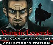 Feature screenshot game Vampire Legends: The Count of New Orleans Collector's Edition