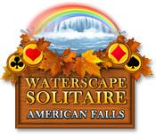 Feature screenshot game Waterscape Solitaire: American Falls