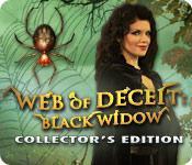 Feature screenshot game Web of Deceit: Black Widow Collector's Edition