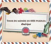La fonctionnalité de capture d'écran de jeu Tour du Monde en 1001 Puzzles: Amérique