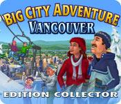 La fonctionnalité de capture d'écran de jeu Big City Adventure: Vancouver Edition Collector
