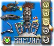 La fonctionnalité de capture d'écran de jeu Big Kahuna Words