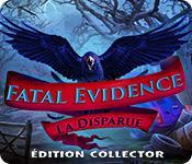 La fonctionnalité de capture d'écran de jeu Fatal Evidence: La Disparue Édition Collector