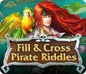La fonctionnalité de capture d'écran de jeu Fill and Cross Pirate Riddles