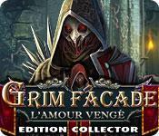 La fonctionnalité de capture d'écran de jeu Grim Facade: L'Amour Vengé Edition Collector