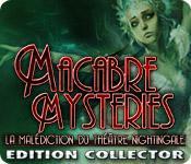 La fonctionnalité de capture d'écran de jeu Macabre Mysteries: La Malédiction du Théâtre Nightingale Edition Collector