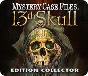 La fonctionnalité de capture d'écran de jeu Mystery Case Files ®: 13th Skull  Edition Collector