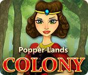 La fonctionnalité de capture d'écran de jeu Popper Lands Colony