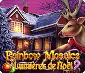 La fonctionnalité de capture d'écran de jeu Rainbow Mosaics: Lumières de Noël 2