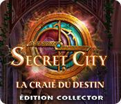 La fonctionnalité de capture d'écran de jeu Secret City: La Craie du Destin Édition Collector