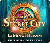 La fonctionnalité de capture d'écran de jeu Secret City: La Menace Humaine Édition Collector