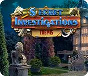 La fonctionnalité de capture d'écran de jeu Secret Investigations: Themis