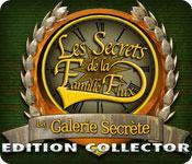 La fonctionnalité de capture d'écran de jeu Les Secrets de la Famille Flux: La Galerie Secrète Edition Collector