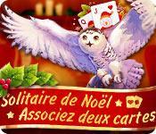 Solitaire de Noël Associez deux cartes game play