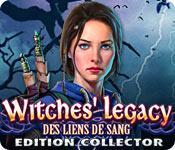 La fonctionnalité de capture d'écran de jeu Witches' Legacy: Des Liens de Sang Edition Collector