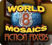 La fonctionnalité de capture d'écran de jeu World Mosaics 8: Fiction Fixers