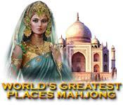 La fonctionnalité de capture d'écran de jeu World's Greatest Places Mahjong