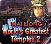 La fonctionnalité de capture d'écran de jeu World's Greatest Temples Mahjong 2