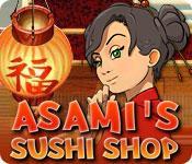 Funzione di screenshot del gioco Asami's Sushi Shop