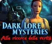 Funzione di screenshot del gioco Dark Lore Mysteries: Alla ricerca della verità