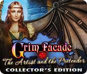 Funzione di screenshot del gioco Grim Facade: The Artist and The Pretender Collector's Edition