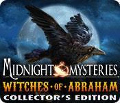 Funzione di screenshot del gioco Midnight Mysteries: Witches of Abraham Collector's Edition