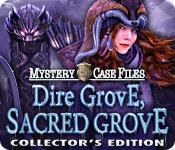 Funzione di screenshot del gioco Mystery Case Files: Dire Grove, Sacred Grove Collector's Edition