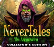 Funzione di screenshot del gioco Nevertales: The Abomination Collector's Edition