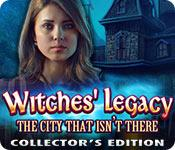 Funzione di screenshot del gioco Witches' Legacy: The City That Isn't There Collector's Edition